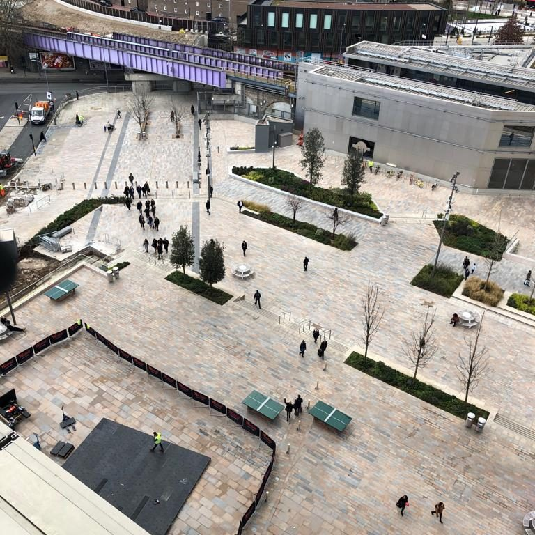 Works at Westfield London