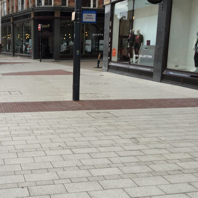 Paving at Victoria Gate Leeds